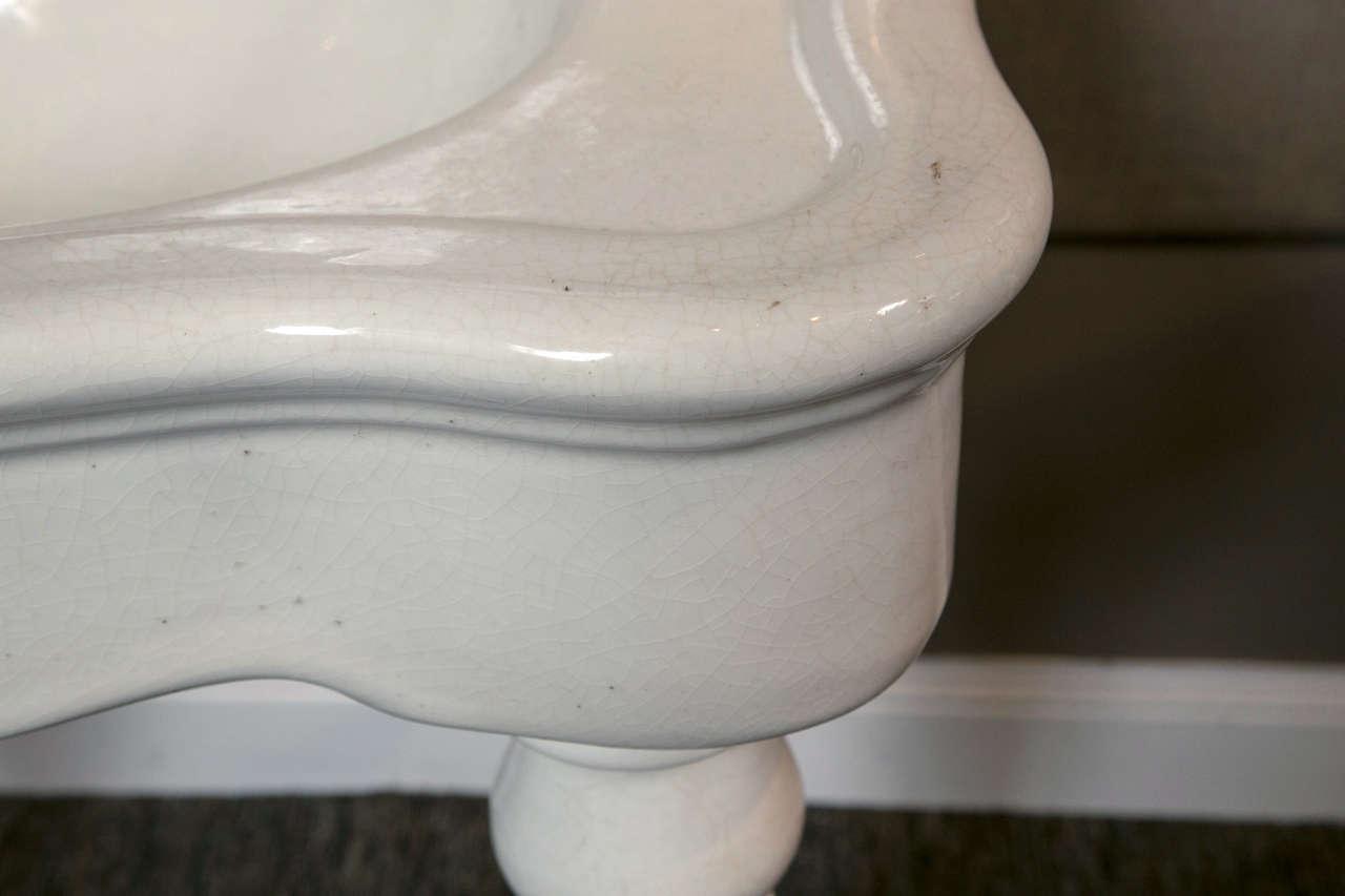 JL Mott Earth ware Bath Sink For Sale 1