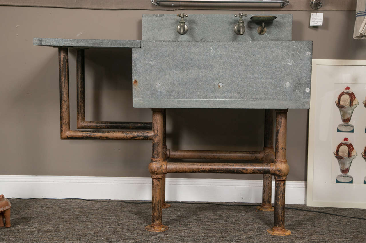 industrial soapstone sink at 1stdibs
