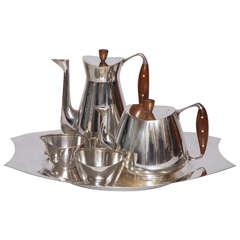 Anton Michelsen Sterling Tea Set