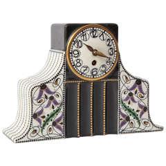 Karl Klaus, Serapis Wahliss, Vienna Secessionist Clock, 1910, Austria