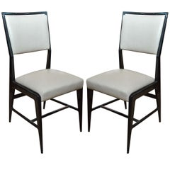 Pair of Occasional Chairs Attributed to Gio Ponti