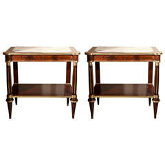 Pair of Maison Jansen Consoles