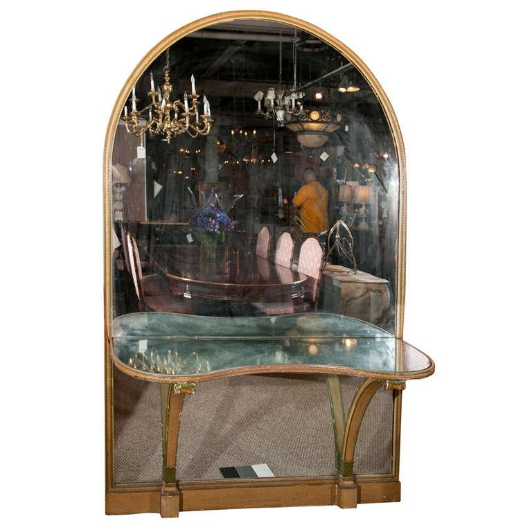 Maison Jansen Mirrored Vanity 1