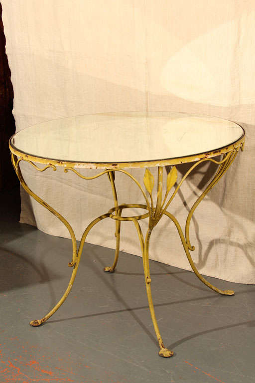 Salterini garden table 2