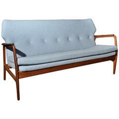 1960's Wingback sofa by Bovenkamp, Holland