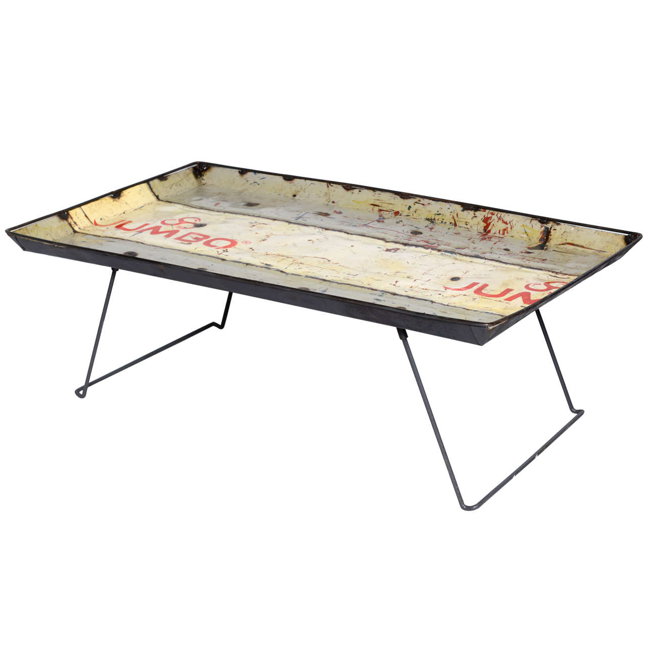 French Industrial Coffee Table Saturday Sale Only At 1stdibs