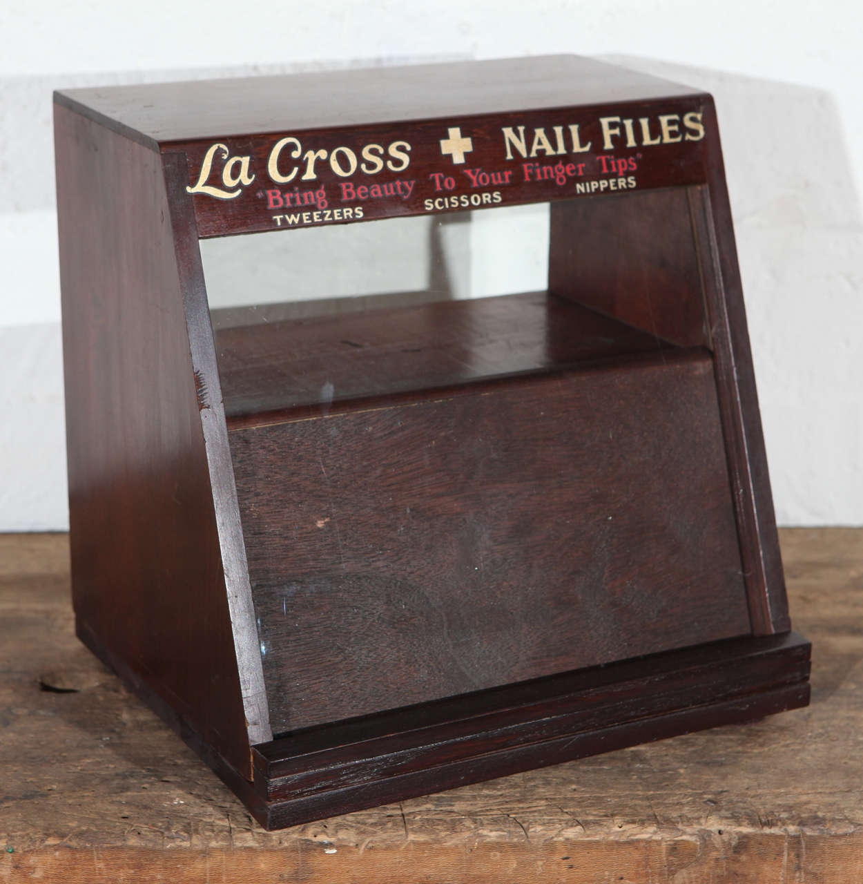 La Cross Display and Inventory Cabinet For Sale at 1stdibs