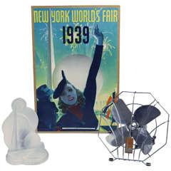 1939 New York World's Fair Art Deco Collectibles