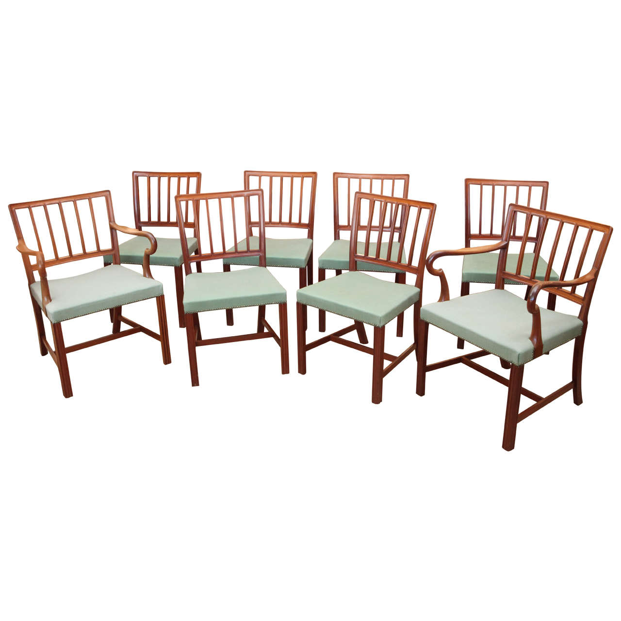 Jacob Kj 230 R Set Of Eight Dining Chairs At 1stdibs