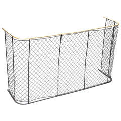 "Brass and Iron Nursery Guard - 49"" Wide"