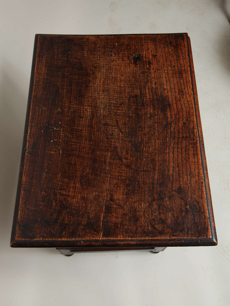 Late 17th Century English Oak and Ash Side Table For Sale 3