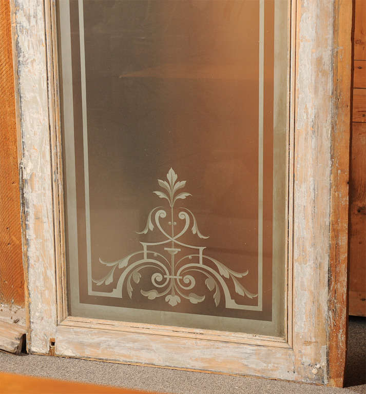 French Antique Set of Doors / Storefront 6
