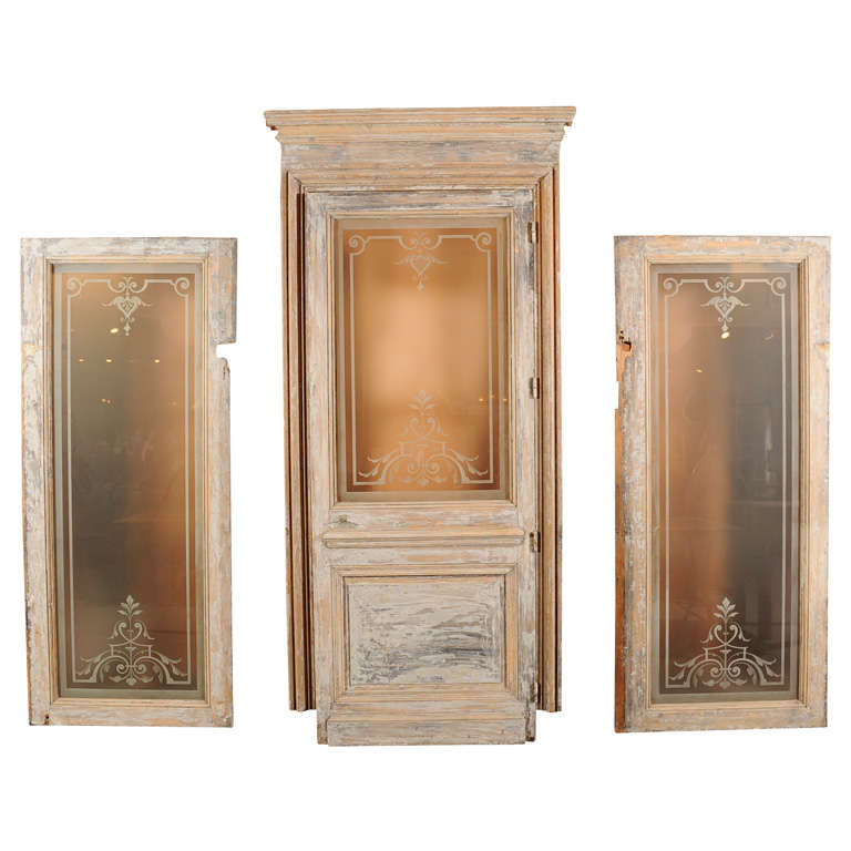 French Antique Set of Doors 1