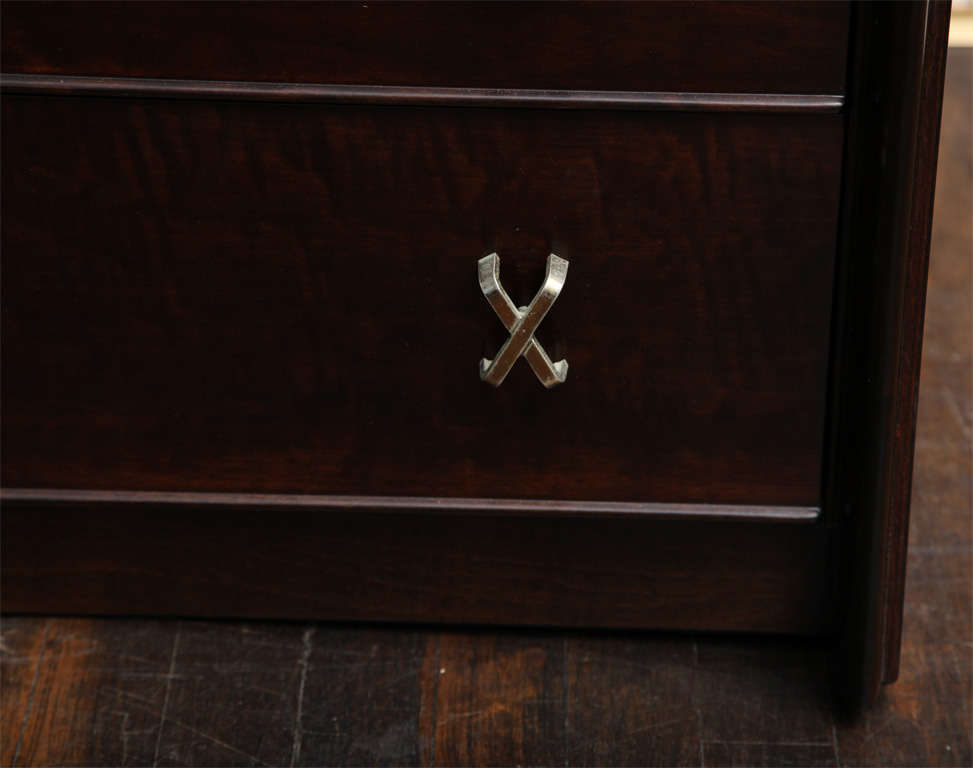 Gentleman's Chest of Drawers by Paul Frankl In Excellent Condition For Sale In New York, NY