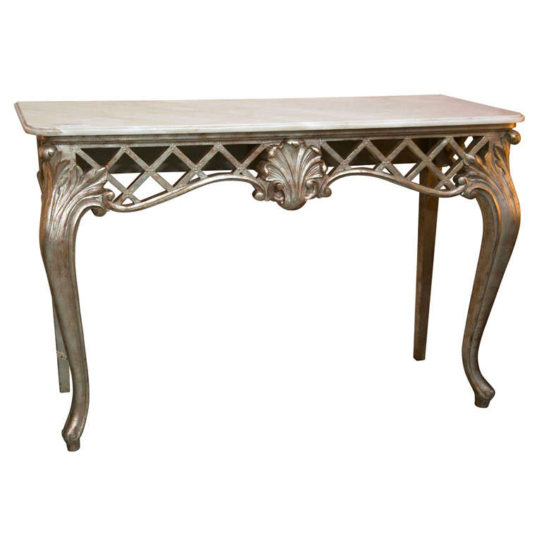 French Console Table french rococo style console table at 1stdibs