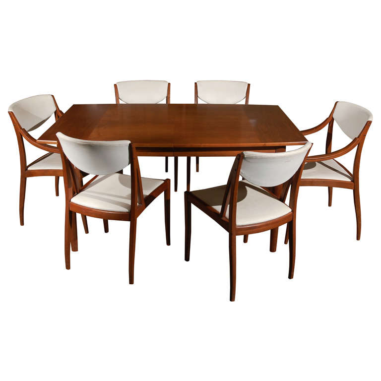 1950 drexel parallel dining set at 1stdibs
