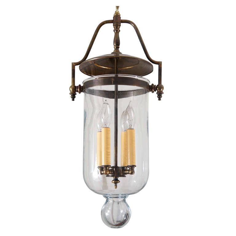 indo colonial bell jar pendant at 1stdibs. Black Bedroom Furniture Sets. Home Design Ideas