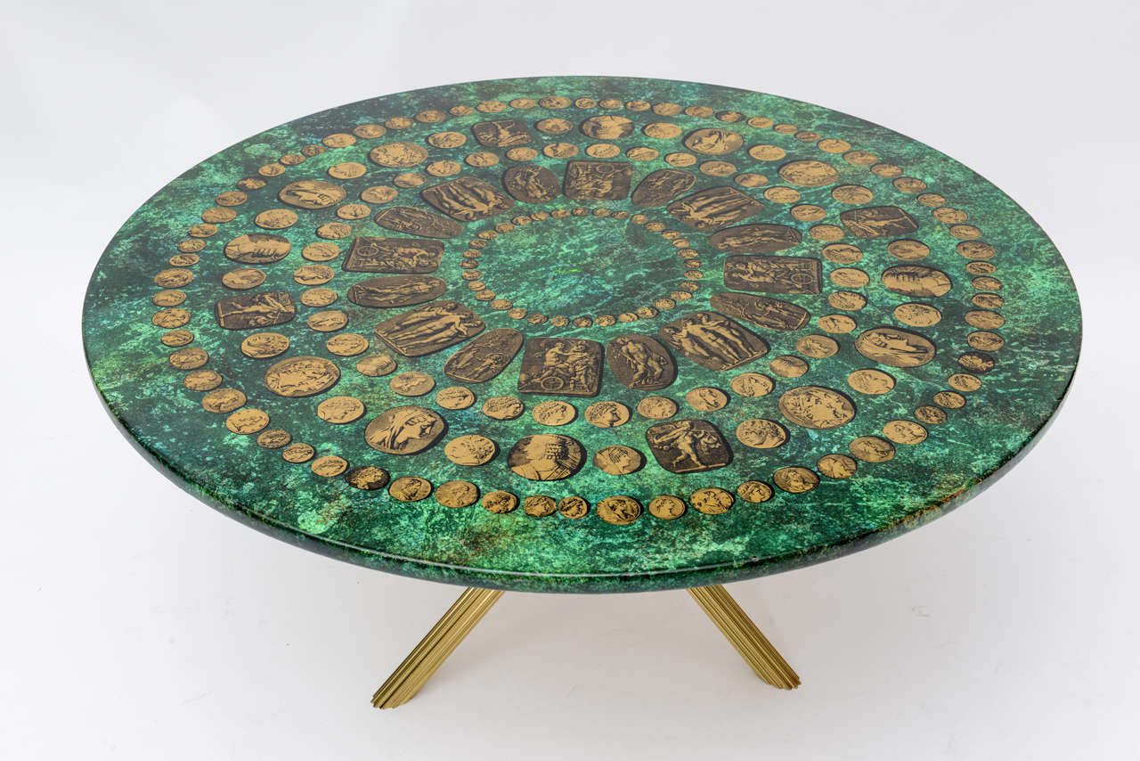 Piero Fornasetti Coffee Table 1