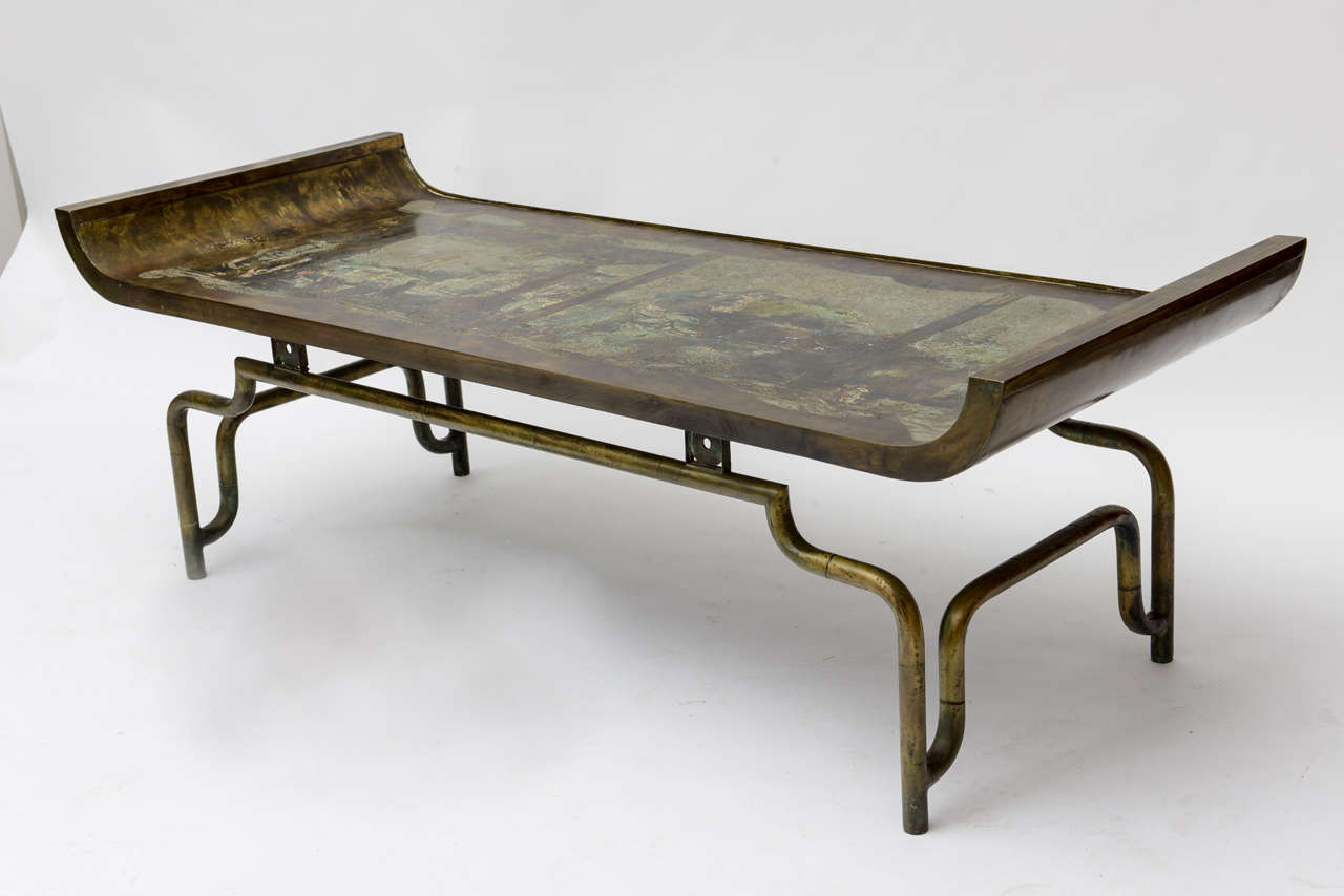 Rare Philip And Kelvin Laverne Coffee Table For Sale At 1stdibs