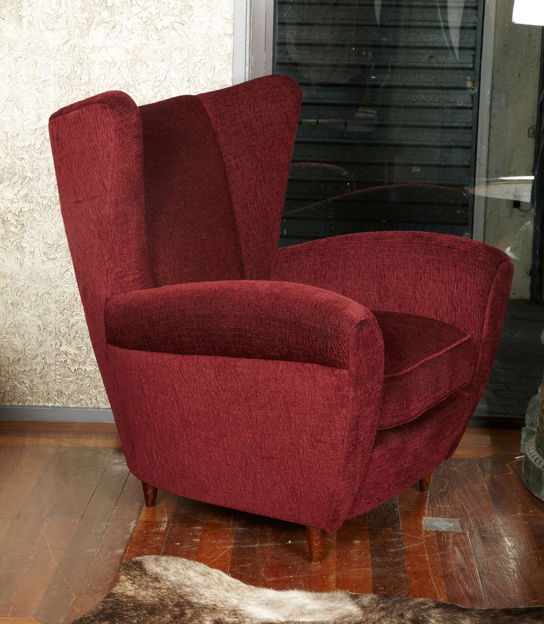 French 1950's pair of armchairs For Sale