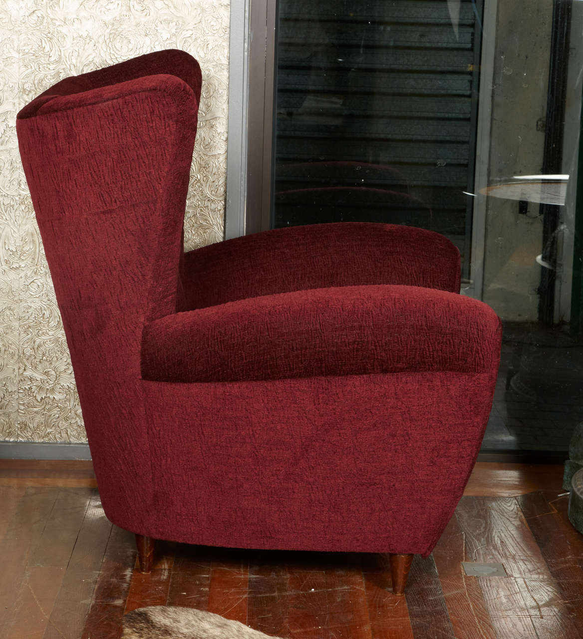 1950's pair of armchairs In Excellent Condition For Sale In Saint-Ouen (PARIS), FR