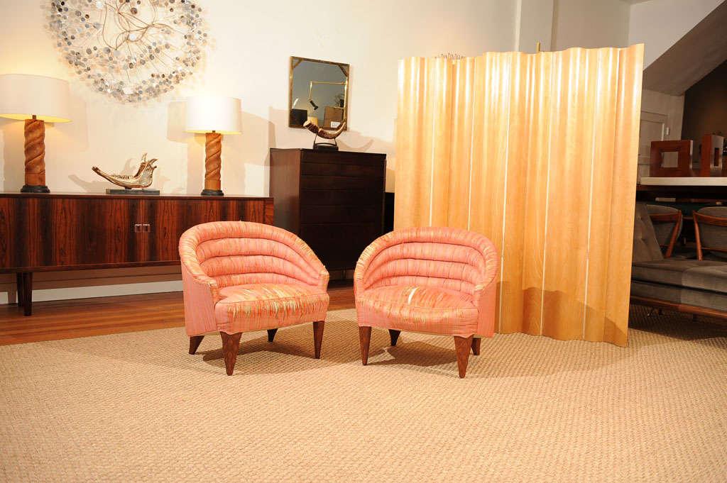 "Dunbar ""Janus"" Line Slipper Chairs 3"