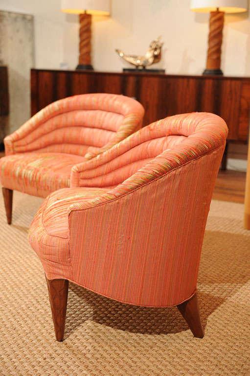 "Dunbar ""Janus"" Line Slipper Chairs 6"