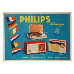 Vivid 1962 PHILIPS Poster