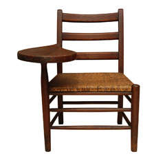 Hickory Writing Chair