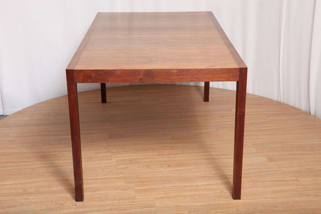Walnut Dining Table by Knoll For Sale 5
