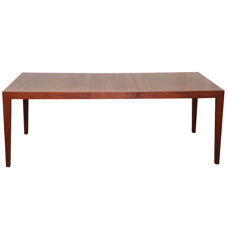 Walnut Dining Table by Knoll For Sale