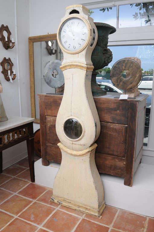 Painted Gustavian Mora Clock 2
