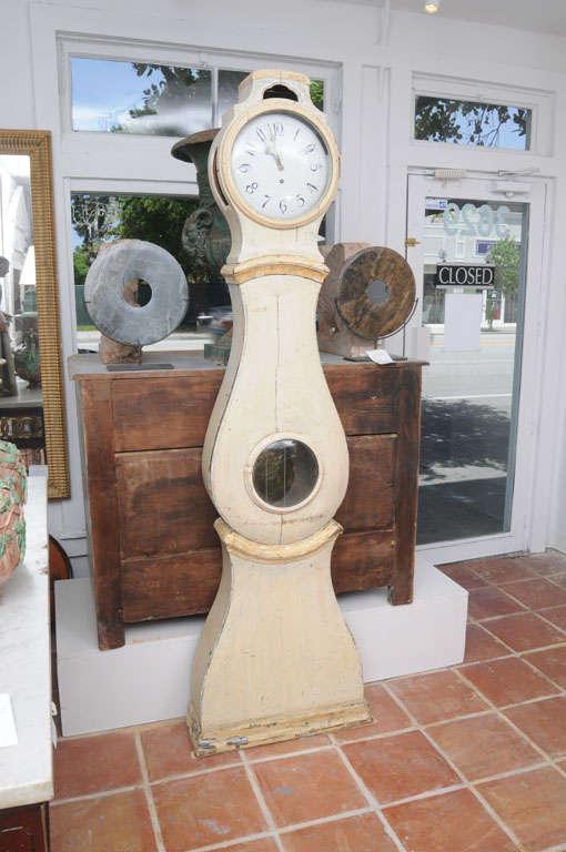 Painted Gustavian Mora Clock 3