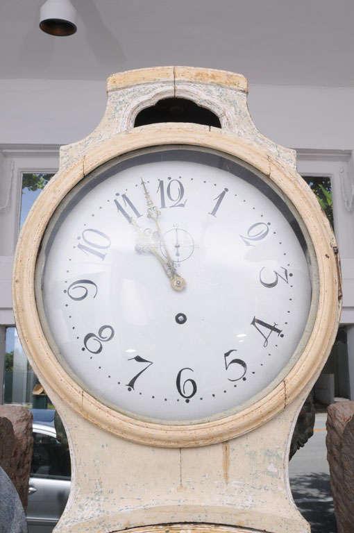 Painted Gustavian Mora Clock 5
