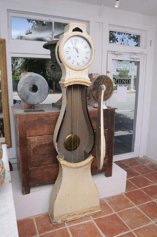 Painted Gustavian Mora Clock 6