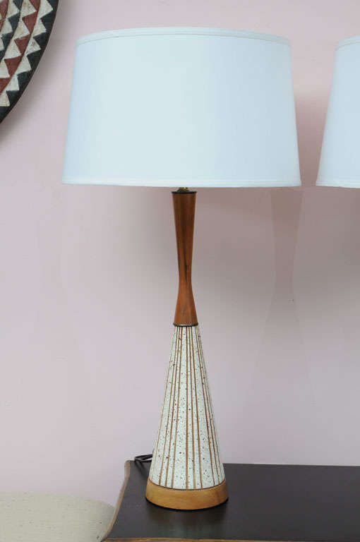 Swedish Midcentury swedish  Restored Table Lamps For Sale
