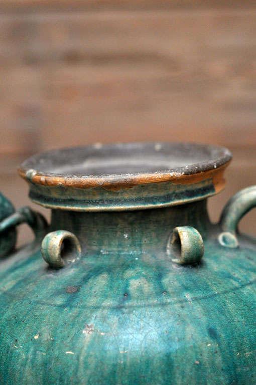 Pottery Qing Dynasty Tea Pot