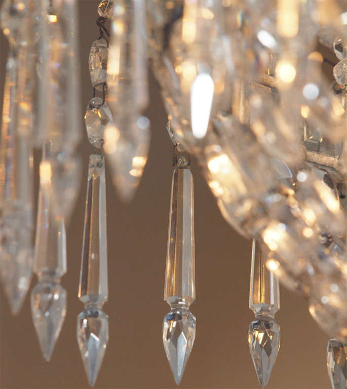 French Empire Crystal Chandelier For Sale 3