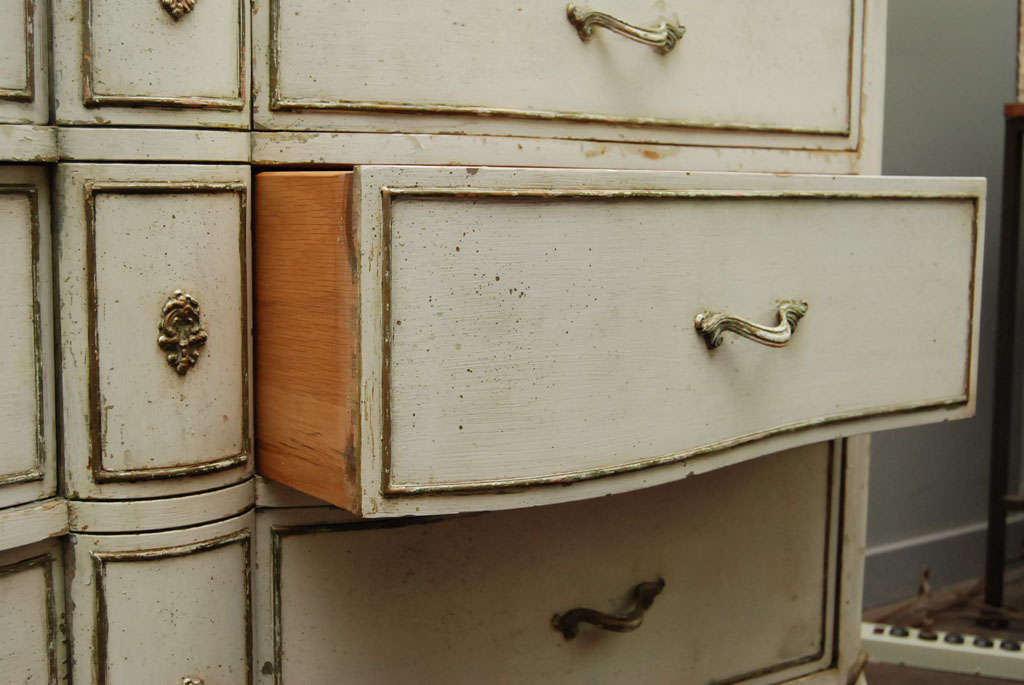 20th Century Louis XV Provincial Style Painted Dresser For Sale