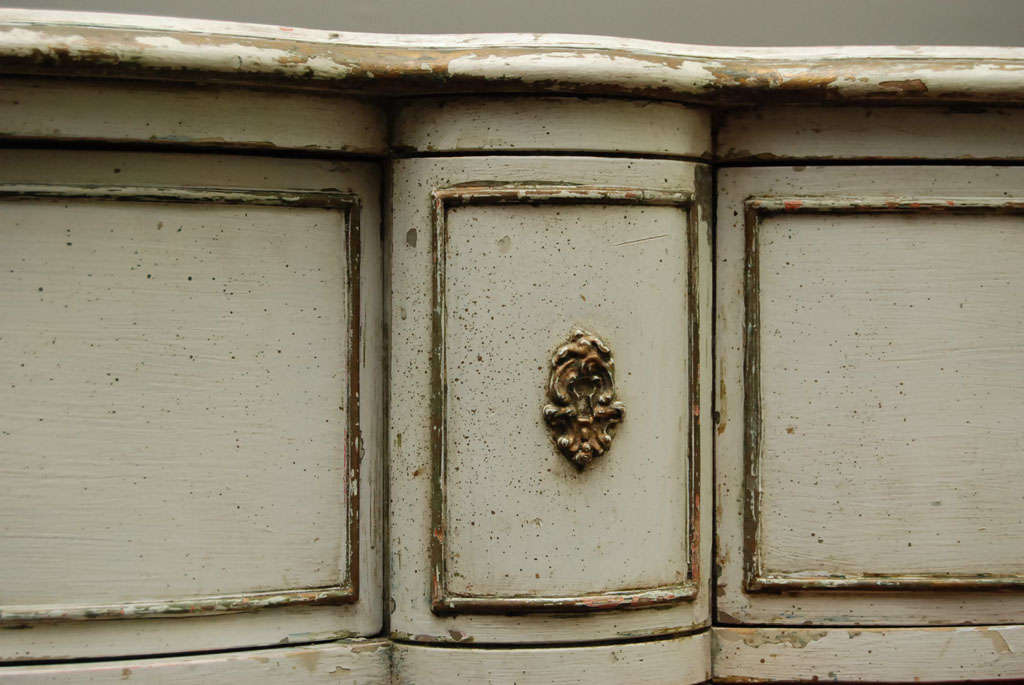 Louis XV Provincial Style Painted Dresser For Sale 1