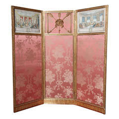Period French Empire Screen