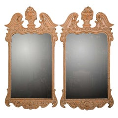 Pair of French Empire Style Mirrors