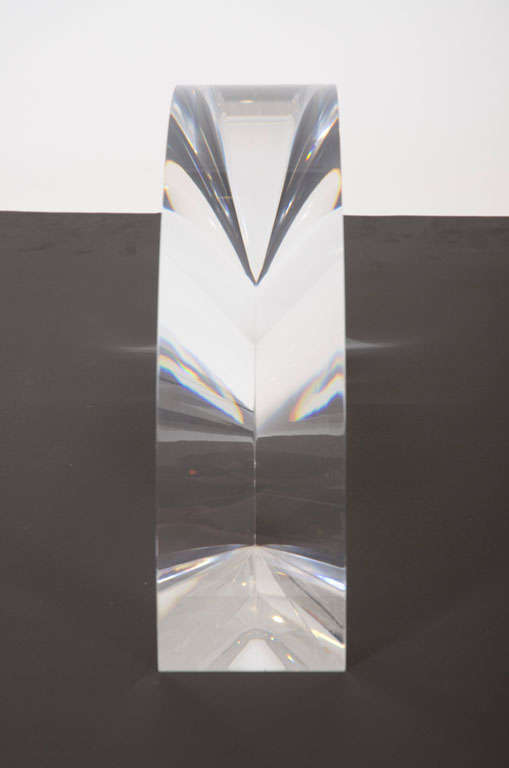 Acrylic Arch Sculpture by Alessio Tasca In Excellent Condition For Sale In New York, NY