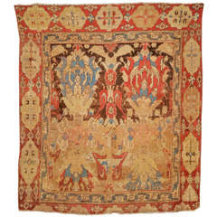 Antique Smyrna Carpet of the 'Transylvanian' type