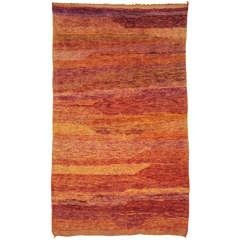 Middle Atlas Open Field Berber Carpet