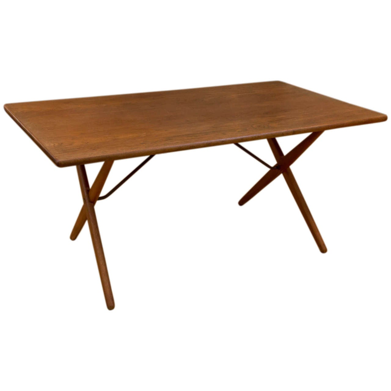 Hans Wegner Model AT 303 Cross Leg Table 1
