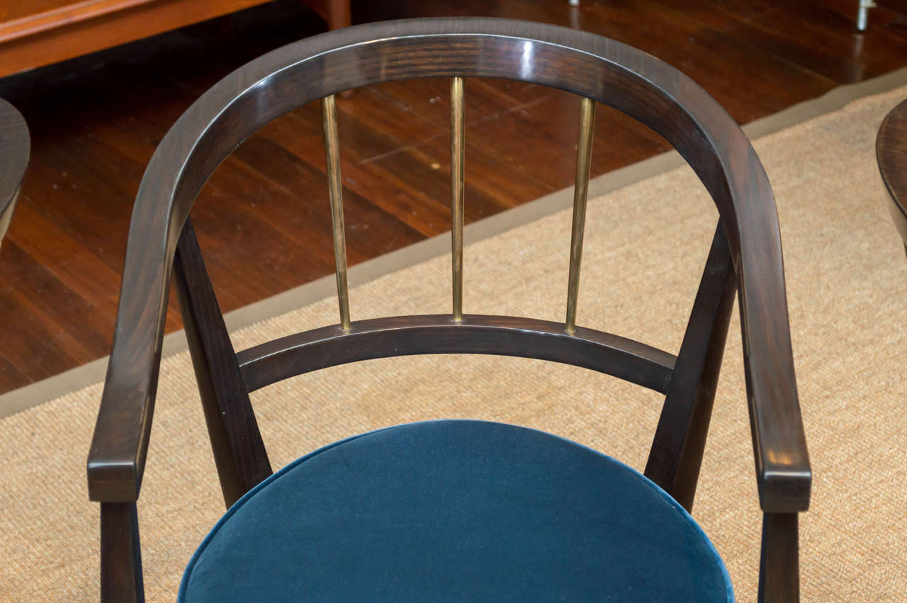 American Trio of Dunbar Armchairs For Sale