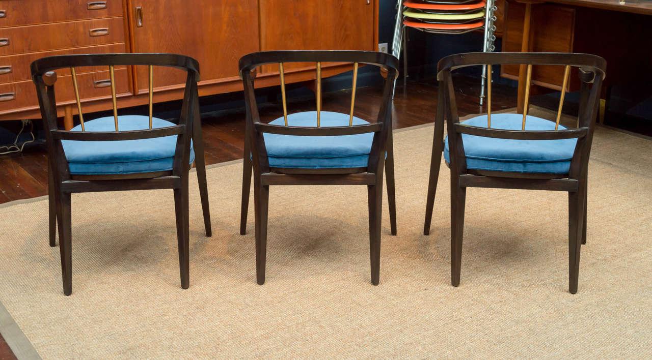 Trio of Dunbar Armchairs For Sale 1