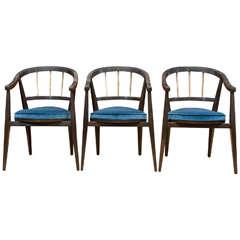 Trio of Dunbar Armchairs