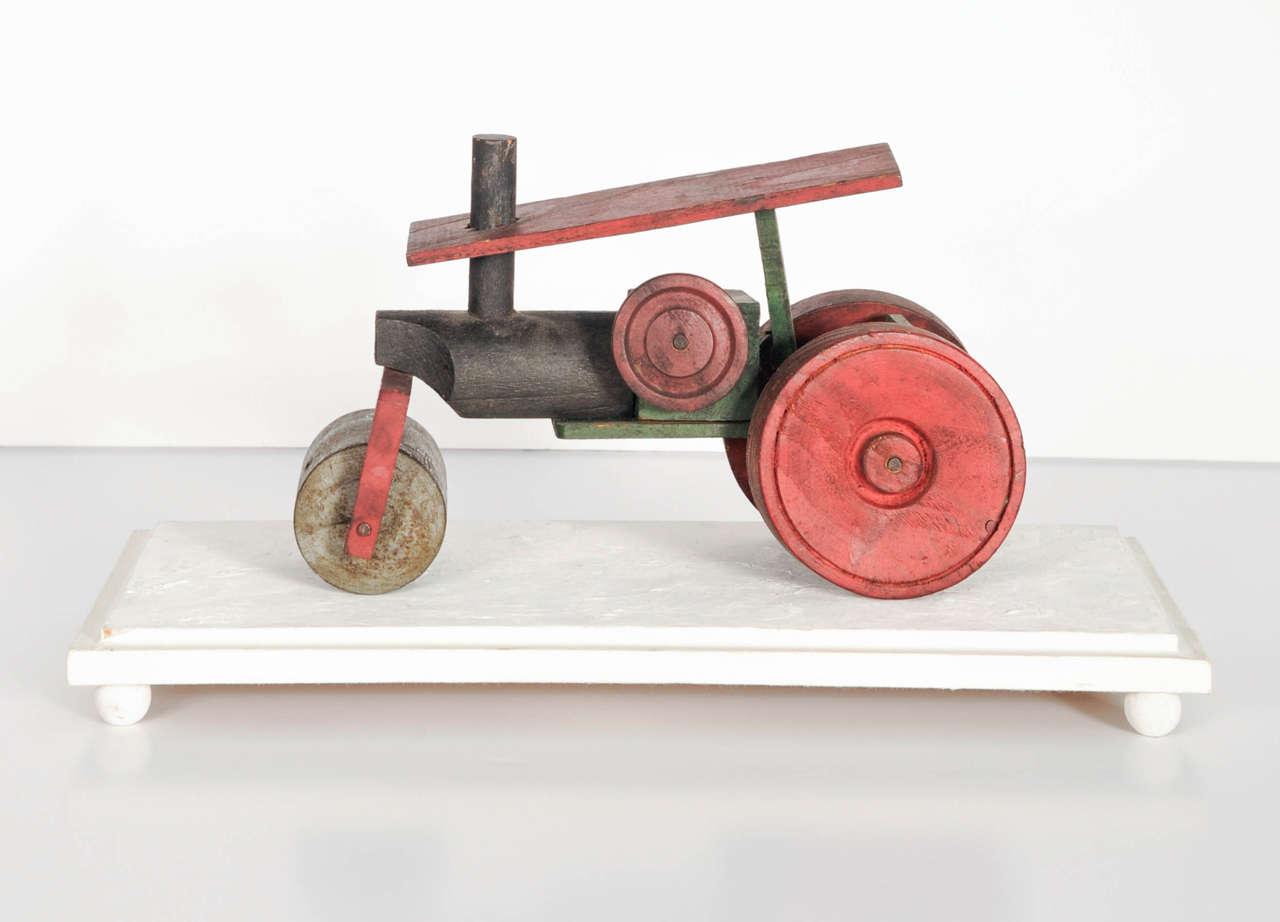 Italian Wooden Toy Train 3